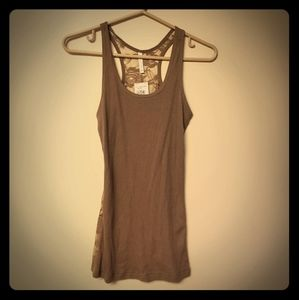 Color Story Ribbed Tank Top NWT (A12)